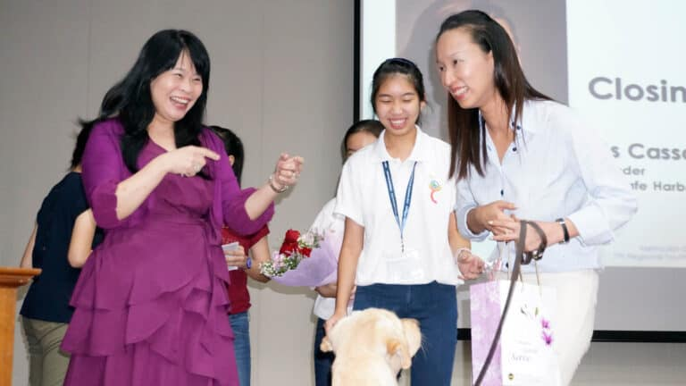 Photo-of-Cassandra-at-MGS-7th-MGS-Regional-Youth-Conference-with-Mrs-Ong